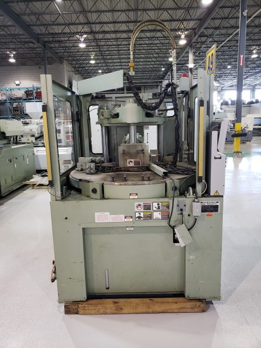 Used 2007 Nissei TNS-100R18A Vertical Injection Molding